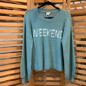 New Soft weekend sweater